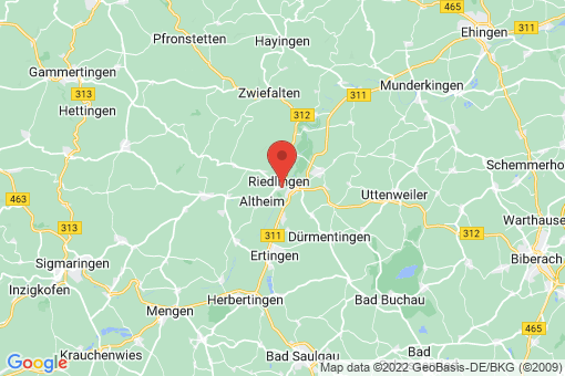 Karte Riedlingen