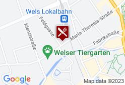 Gasthaus zur Lokalbahn - Karte