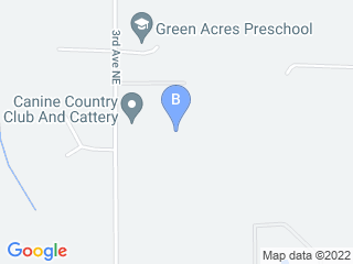 Map of Canine Country Club And Cattery Inc Dog Boarding options in Arlington | Boarding