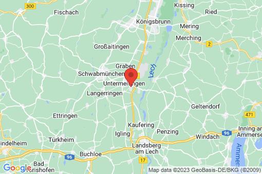 Karte Klosterlechfeld