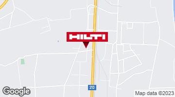 Wegbeschreibung zu Hilti Store St. Poelten