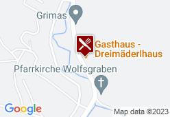 Gasthaus Kramel - Dreimäderlhaus - Karte
