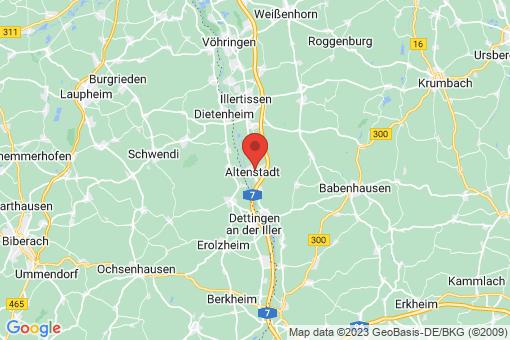 Karte Altenstadt