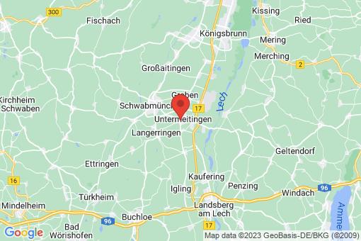 Karte Untermeitingen