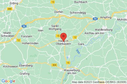 Karte Haag in Oberbayern