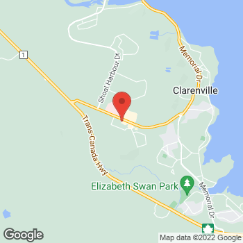 Map of Tim Hortons at 72 Manitoba Dr, Clarenville, NL A0E 1J0