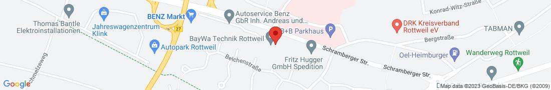BayWa Technik Rottweil Anfahrt
