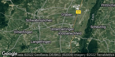 Google Map of Untermeitingen