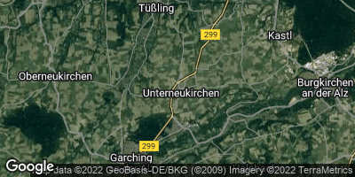 Google Map of Unterneukirchen