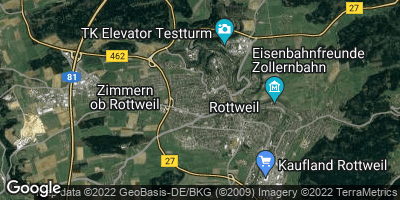 Google Map of Rottweil