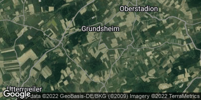 Google Map of Grundsheim