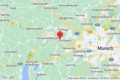 Karte Eichenau