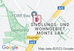Müller Bräu am Laaerberg - Karte