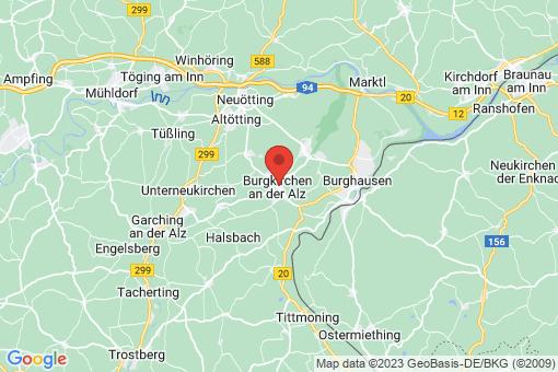 Karte Burgkirchen an der Alz