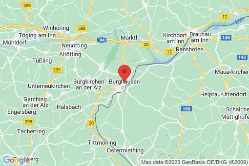 Karte Burghausen