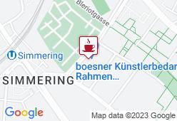 Künstlercafe Boesner - Karte