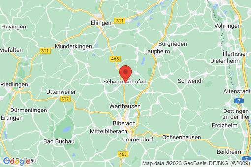 Karte Schemmerhofen