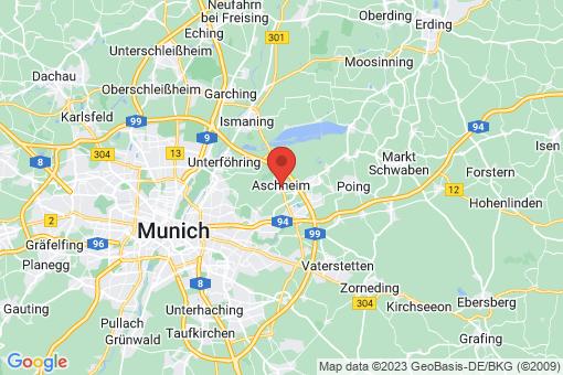 Karte Aschheim