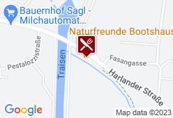 NATURFREUNDE BOOTSHAUS - Karte