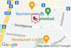 Trünkel Filiale Reumannplatz - Karte