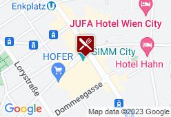 Pressburg - Karte
