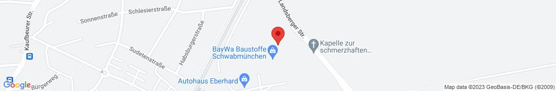 BayWa Baustoffe Schwabmünchen Anfahrt