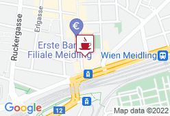 Cafe Admiral Meidling  - Karte