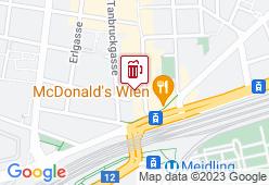 The Golden Harp Meidling - Karte