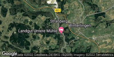 Google Map of Straßberg