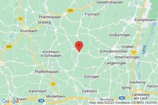 Karte Mittelneufnach