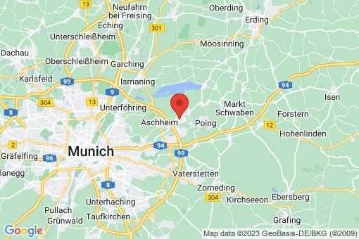 Karte Kirchheim bei München