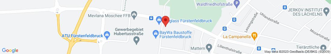 BayWa AG Fuerstenfeldbruck Anfahrt