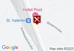 Gasthof Pillgrab - Karte