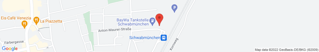 BayWa Tankstelle Schwabmünchen Anfahrt