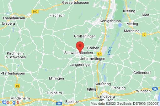 Karte Schwabmünchen