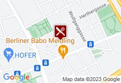 Gasthaus Alt Wien - Karte