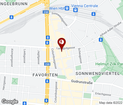 Map of Favoritenstraße 79 in Wien