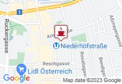Café-Konditoreien Weidlich - Karte