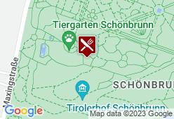 Kaiserpavillon im Tiergarten - Karte