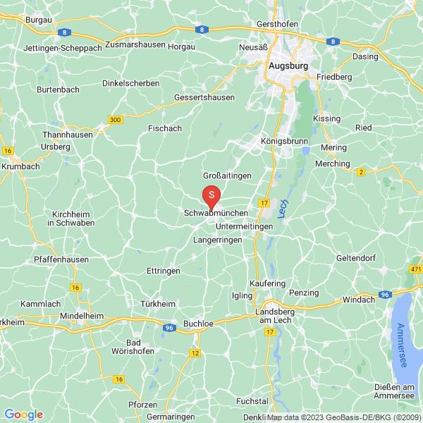 Disc Golf-Anlage Schwabmünchen Luitpoldpark