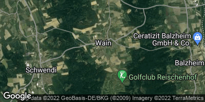 Google Map of Wain