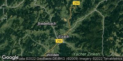 Google Map of Elzach