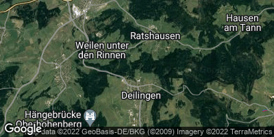 Google Map of Deilingen