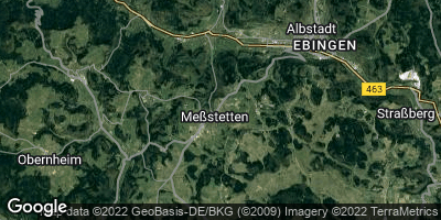 Google Map of Meßstetten