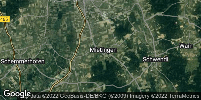 Google Map of Mietingen