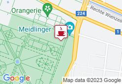 Café-Meierei Schönbrunn - Karte