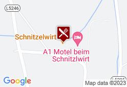 Schnitzlwirt Landhaus Summer - Karte