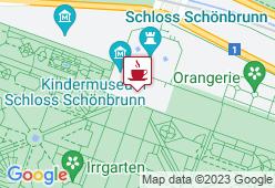 Landtmann's Jausenstation Meierei Schönbrunn - Karte