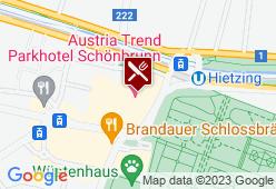 Wintergarten (Parkhotel Schönbrunn) - Karte