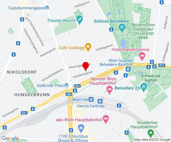 Google Map of Schelleingasse 8/2b, 1040 Wien